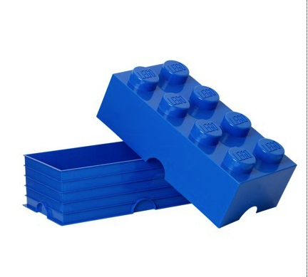 Lego storage blocks (stackable)