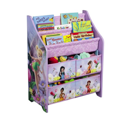 Delta Children's book and toy storage