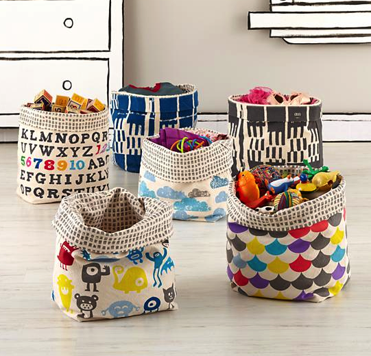 Land of Nod storage bins