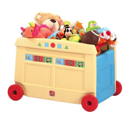 Step 2 lift and roll toy box