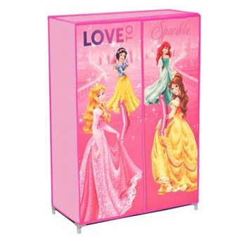 Disney princess storage wardrobe