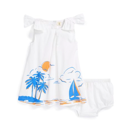 Tucker + Tate dress and bloomers