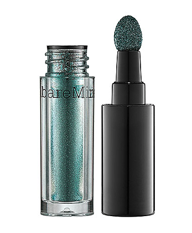 Bare Minerals high shine eye cool in electric - deep teal - summer makeup trends