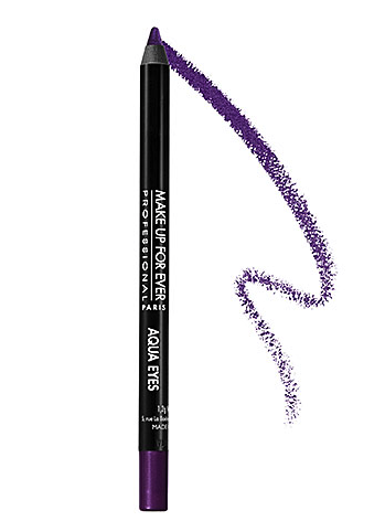 Makeup Forever eyeliner in purple