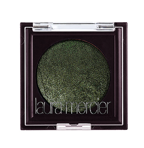 Laura Mercier wet/dry eye shadow in emerald