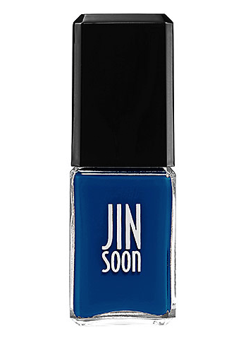 Jin Soon Choi nail polish in cool blue
