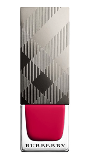 Burberry nail polish in no 2 pink