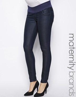 New Look maternity reversible jeans