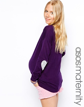 Asos maternity sweater