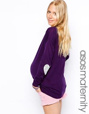 Asos maternity sweater