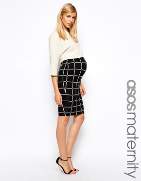 Asos maternity skirt - maternity fashion