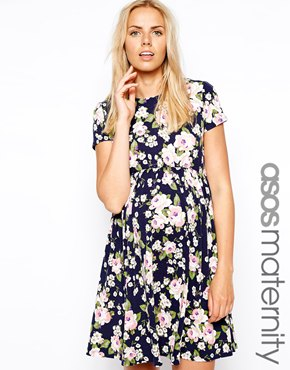 Asos maternity dress - maternity fashion