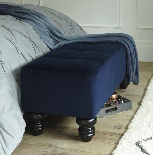 Essex upholstered bench - child friendly furniture