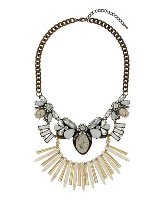 Topshop necklace - style on budget