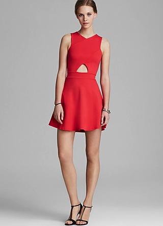 Aqua dress
