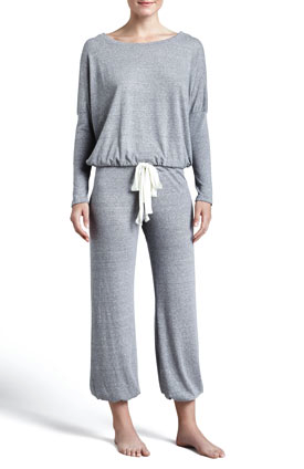 Eberjey pajama pants and top