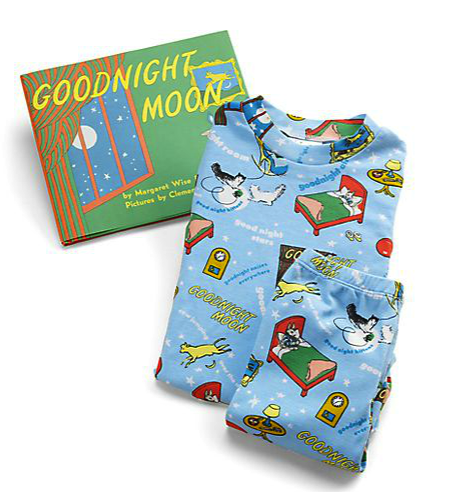 Books to Bed Goodnight Moon book and pj set