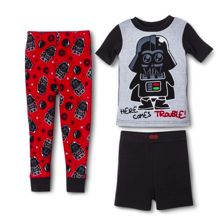Star Wars 3 pc sleep set