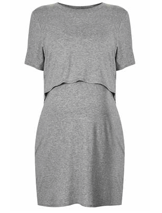 Topshop maternity dress - stylish maternity wear