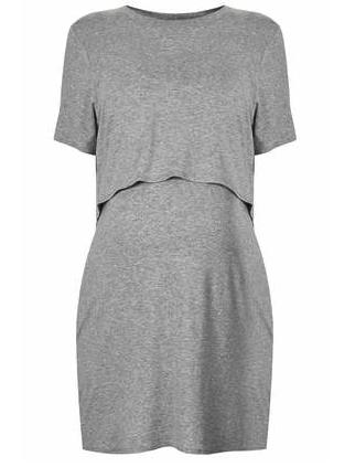 Topshop maternity dress - stylish maternity wear