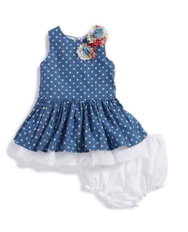 Pippa and Julie dress and bloomers