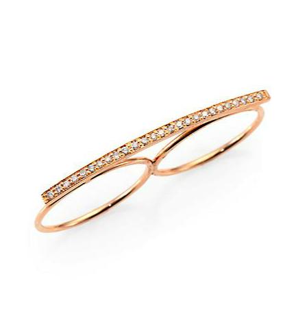 Jacquie Aiche double finger ring