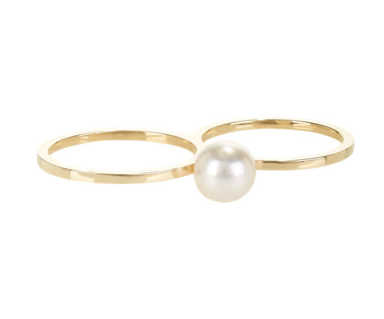 Sophie Bille Brahe double ring