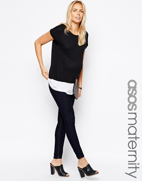 Asos maternity/nursing t-shirt