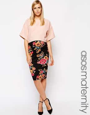 Asos maternity skirt - stylish pregnancy clothes