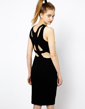French Connection dress - the cutout trend