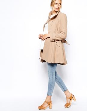 Asos maternity coat