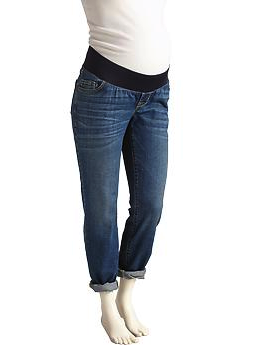 Old Navy maternity boyfriend jeans