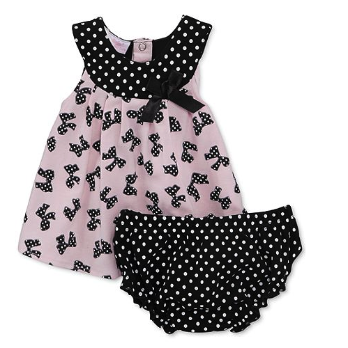 Kids Headquarters top and bloomers set