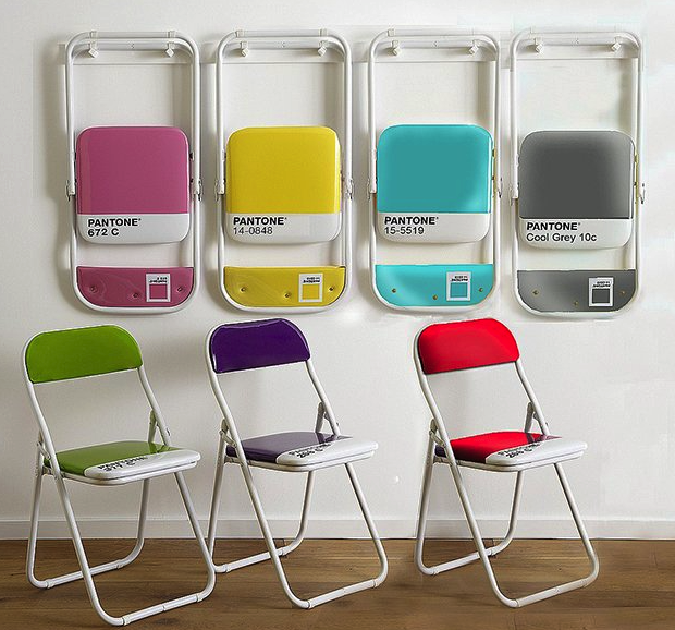Seletti pantone chairs
