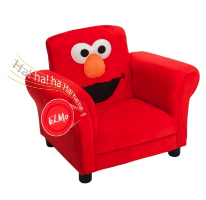 Sesame Street elmo chair with sound