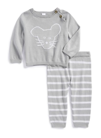 Nordstrom Baby knit sweater and pants