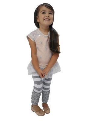 Toddler leg warmer leggings