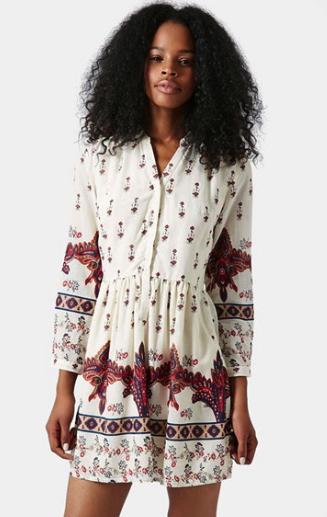 Topshop dress - shirt dress