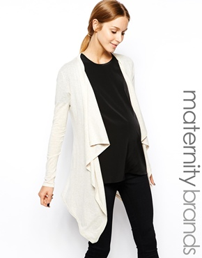 Isabella Oliver cardigan - fashionable maternity clothes