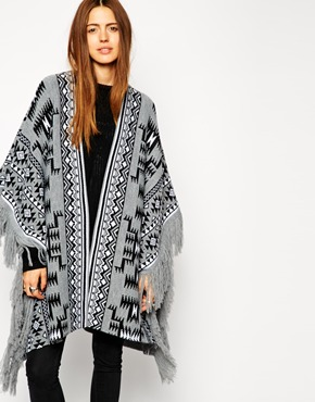 Asos blanket cape