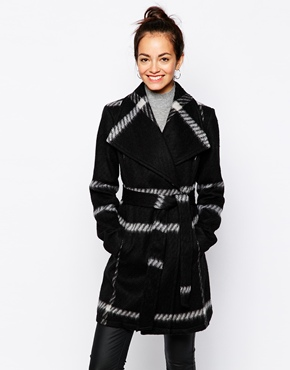 New Look wrap coat