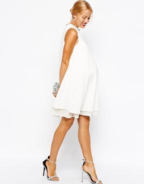 Asos maternity dress - perfect pregnancy style