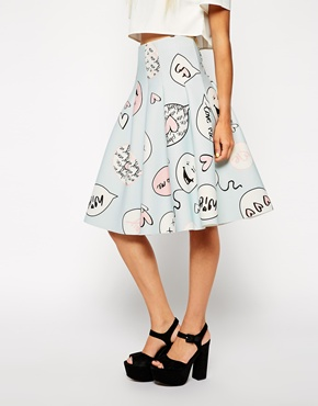 Cartoon skirt
