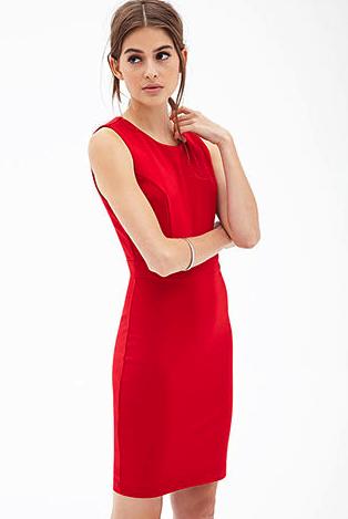 Forever 21 dress -  scarlet red