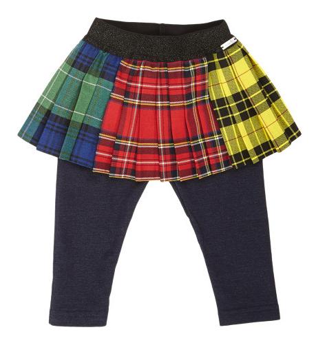 Junior Gaultier skirt leggings combo