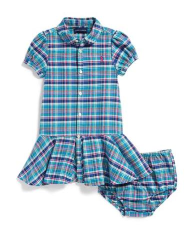 Ralph Lauren shirtdress and bloomers