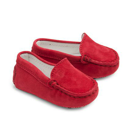 Tods infant moccassins