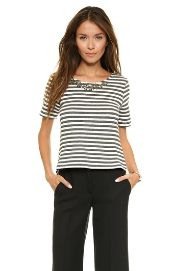 Joa top - stripes