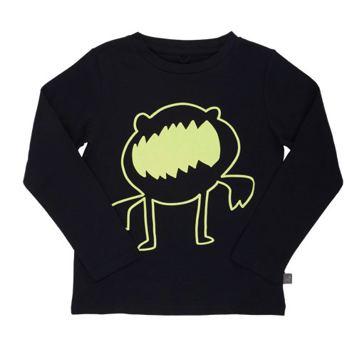 Stella McCarney kids glow in the dark tee