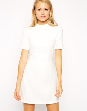 Asos dress - winter white